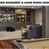 finish basement game room additions