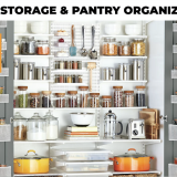 food storage and pantry organization