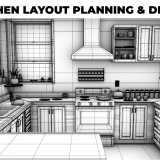 kitchen layout planning and design